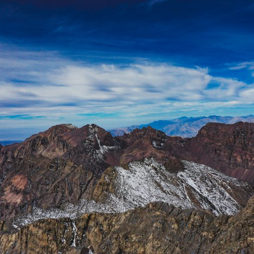 Toubkal. Ascension